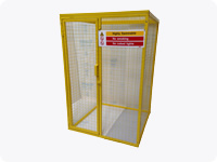 Gas Bottle Storage Cage - 70kg