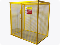 Gas Bottle Storage Cage - 80kg